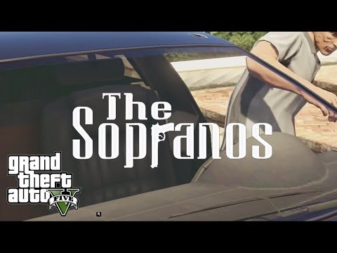 The Sopranos' Opening, Remade In Grand Theft Auto V