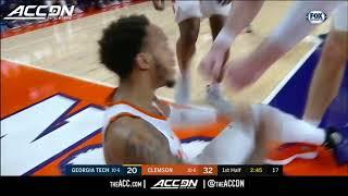 Clemson Men's Basketball    Clemson 72, Georgia Tech 60 [Jan. 16, 2019]