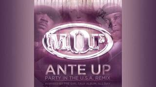 "M.O.P. vs. Miley Cyrus – ""Ante Up (Party In The U.S.A. Remix)"" – inspired by Girl Talk"