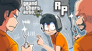GTA 5 roleplay but we go to jail for this on NoPixel?