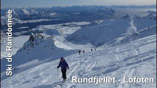 Ski de randonnée - îles Lofoten - Rundfjellet 803 m
