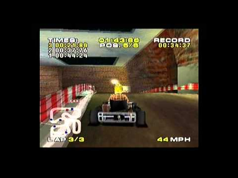 Michael Schumacher Kart Racing Playstation