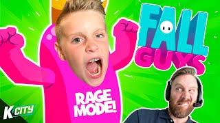 Fall Guys RAGE!!! (Season 2 Makes us Angry) K-CITY GAMING
