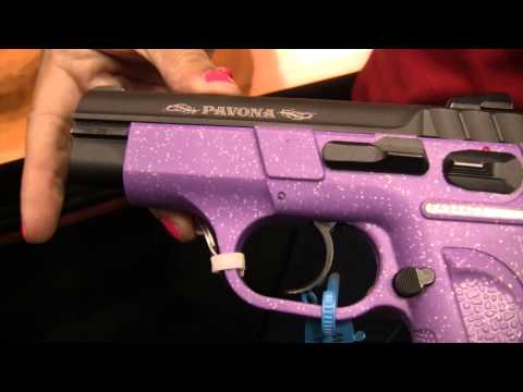Guns And Fashion Mix For Ladies