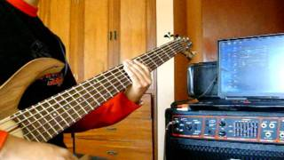 Eva Ayllón - Guaranguito cover bass (ritmo festejo).mpg