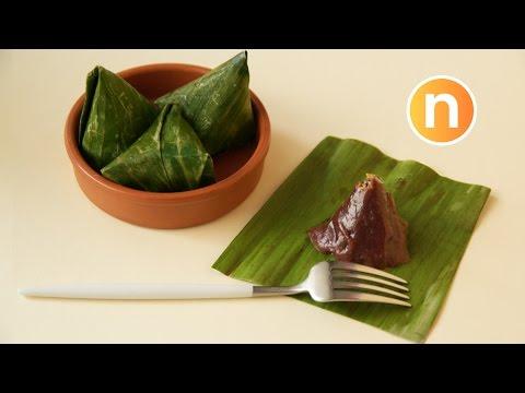 Kuih Koci Black Glutinous Rice | Kue Bugis Ketan Hitam | Kuih Koci Pulut Hitam [Nyonya Cooking]