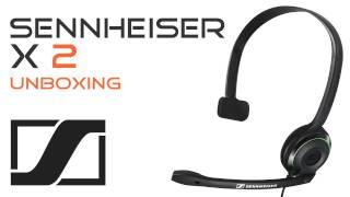Sennheiser X2  -  Headset Unboxing &  Review