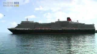 Navios de cruzeiro no Funchal Novembro 2016