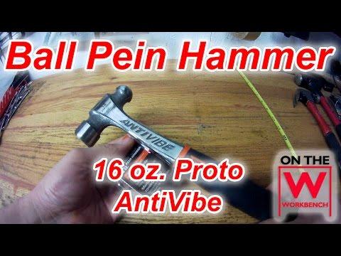 Proto Ball Pein AntiVibe Hammer