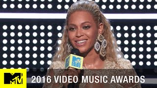 Beyoncé Wins Best Female Video | 2016 Video Music Awards | MTV