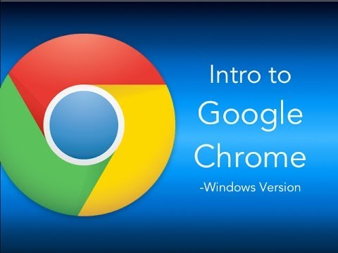 Google Chrome tutorial