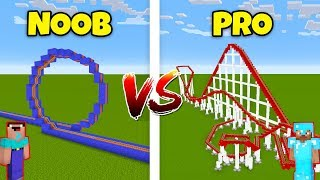 Minecraft NOOB vs. PRO: ROLLERCOASTER in Minecraft! AVM SHORTS Animation
