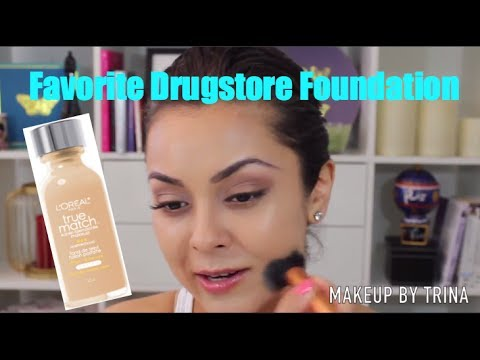 My Favorite Drugstore Foundation | L'oreal True Match - TrinaDuhra