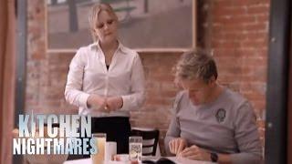 Chef Ramsay Shocked by Lela's Menu - Kitchen Nightmares