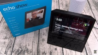 Amazon Echo Show Unboxing And Review