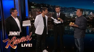 Jimmy Kimmel's Verdict on Controversial Mustard Pizza