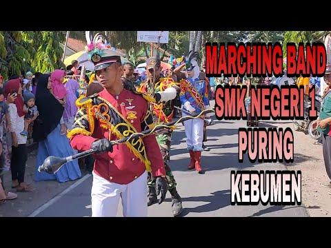 Atraksi Marching Band SMK NEGERI 1 PURING, Kebumen