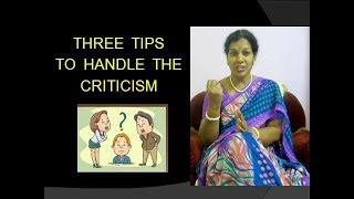 HOW  TO FACE  CRITICISM / INSULT / HUMILIATION