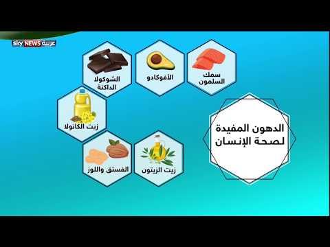 تعرف على الدهون المفيدة لصحة الإنسان والأطعمة التي تحتوي عليها