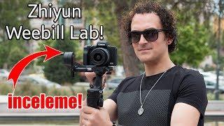 KENDİ FİLMİNİZİ ÇEKİN! - Zhiyun Weebill Lab inceleme