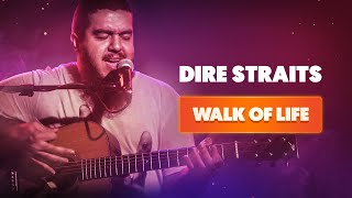 WALK OF LIFE - Dire Straits   Cover Cifra Club
