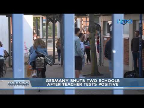 [EagleNewsPH]  Germany shuts two schools after teacher tests tow