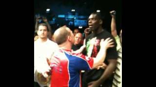 Patrice Quarteron vs Jerome Lebanner Clash .... EXCLU part 1