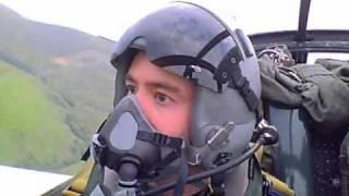 Jet Provost flying