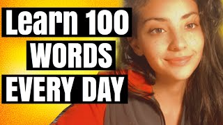 POLYGLOT-LEARN 100 WORDS EVERY DAY -HOW I LEARN VOCABULARY - TURN PASSIVE VOCAB TO ACTIVE VOCABULARY