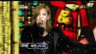 SMTOWN - The sound of hanlyu @SBS MUSIC FESTIVAL 가요대전 20111229