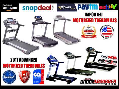 SEMI COMMERCIAL A.C. MOTORISED TREADMILL