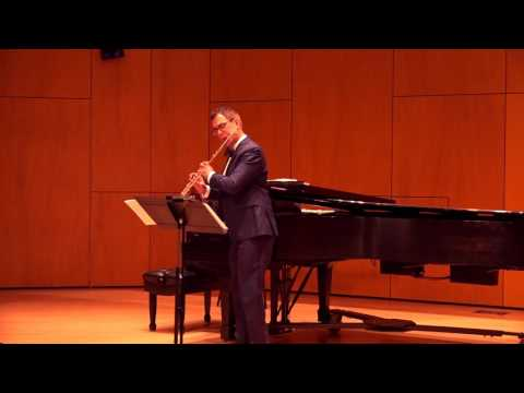 Paul Taffanel - Grand Fantaisie on themes from the Opera Mignon - Live at the NJ Flute Society