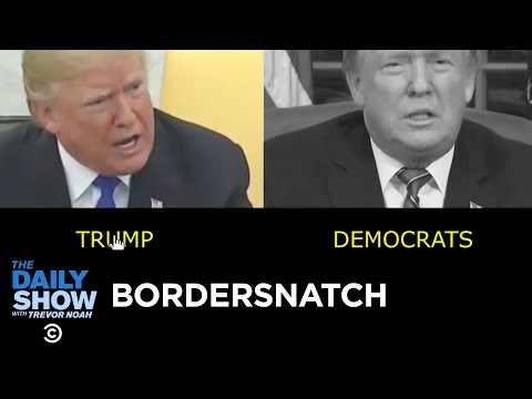 Bordersnatch: One Wall, Infinite Possibilities | The Daily Show