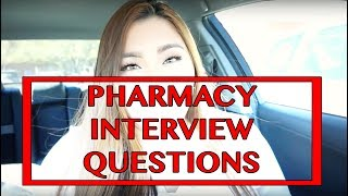 Interview Questions Tips And Advice L Pharmacy School