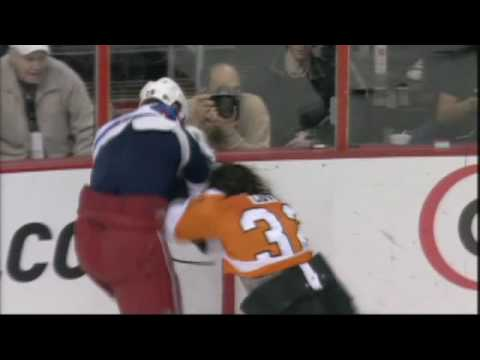 Riley Cote vs. Colton Orr