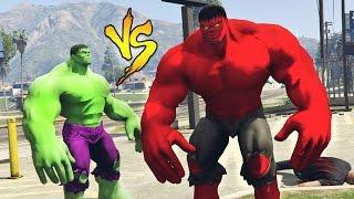 HULK vs RED HULK!
