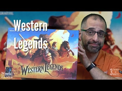 3 Things in 3 Minutes: Western Legends Review