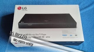 UHD-Player LG UP970 review deutsch