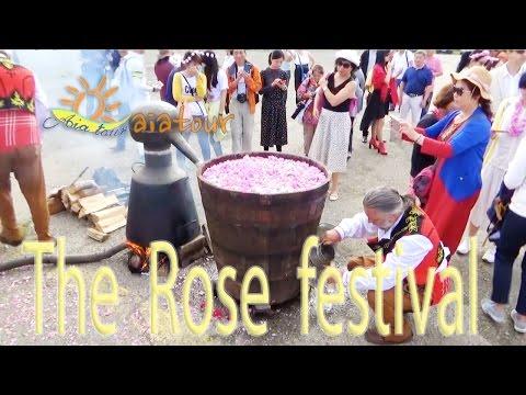 The Rose festival of Kazanlak Bulgaria / Das Rosenfest von Kazanlak Bulgarien