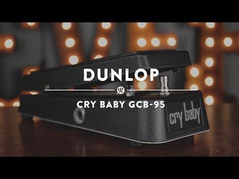 DUNLOP GCB95 Original Cry Baby Wah Wah Wah Wah pedál