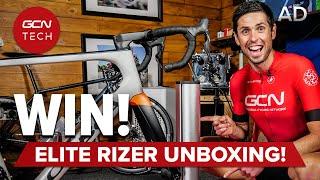 Nuevo desembalaje y sorteo de Elite Rizer | Unboxing de GCN Tech