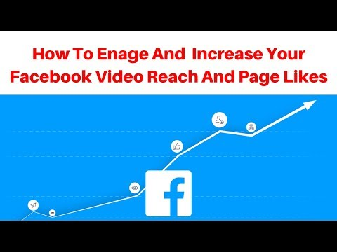 How To engage and Increase Your Facebook Video Reach and page likes