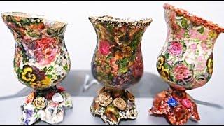 Artesanato : Reciclagem com garrafa PET
