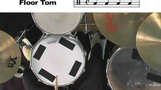 Drum Lesson: How to Read Drum Tabs