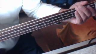 Love On A Two Way Street  Boz Scaggs (Bass Cover)