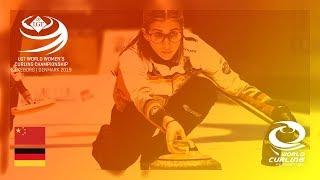 China v Germany - round robin - LGT World Women