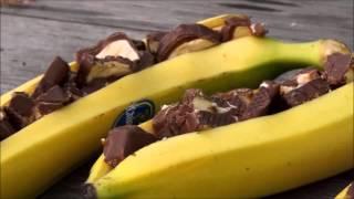 Рецепт блюда: бананы на гриле