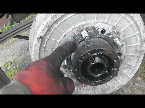 Старый УАЗ ремонт ступиц, замена подшипников