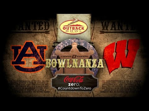 Outback Bowl: Auburn vs Wisconsin Preview   CampusInsiders