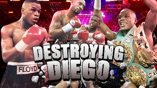 When 'Pretty Boy' Floyd Destroyed Diego Corrales - ONE OF HIS BEST PERFORMANCES